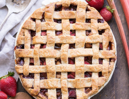 Strawberry Rhubarb Pie Day!